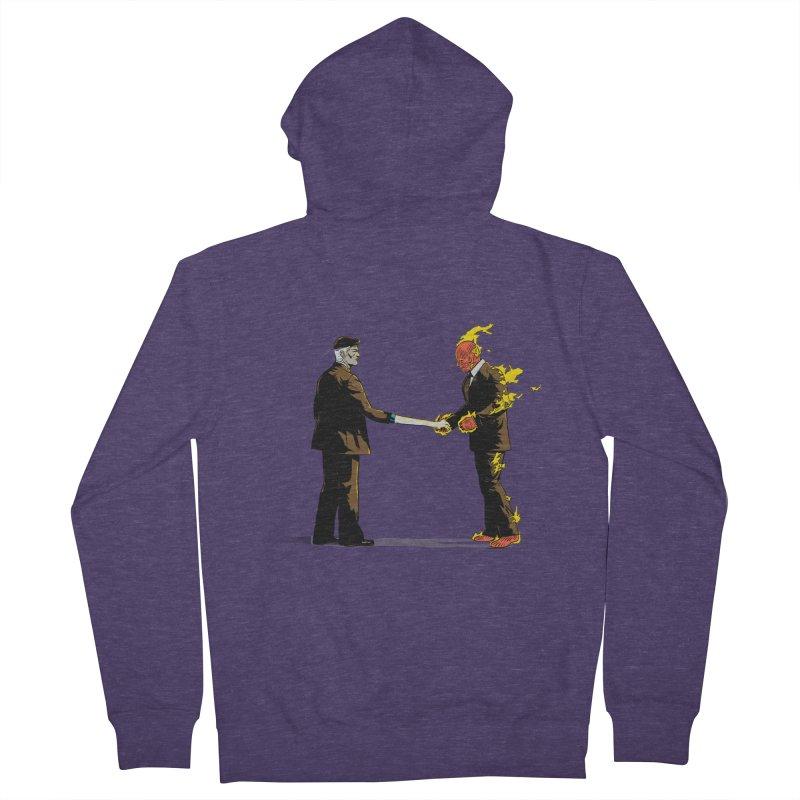 Wish You Were Fantastic Men's Zip-Up Hoody by Nikoby's Artist Shop