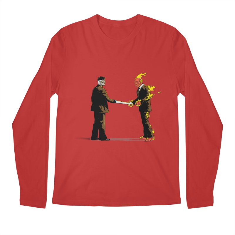 Wish You Were Fantastic Men's Longsleeve T-Shirt by Nikoby's Artist Shop