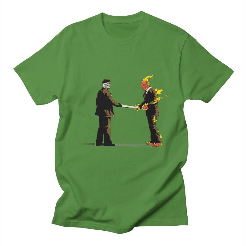 Wish You Were Fantastic Men's T-Shirt by Nikoby's Artist Shop