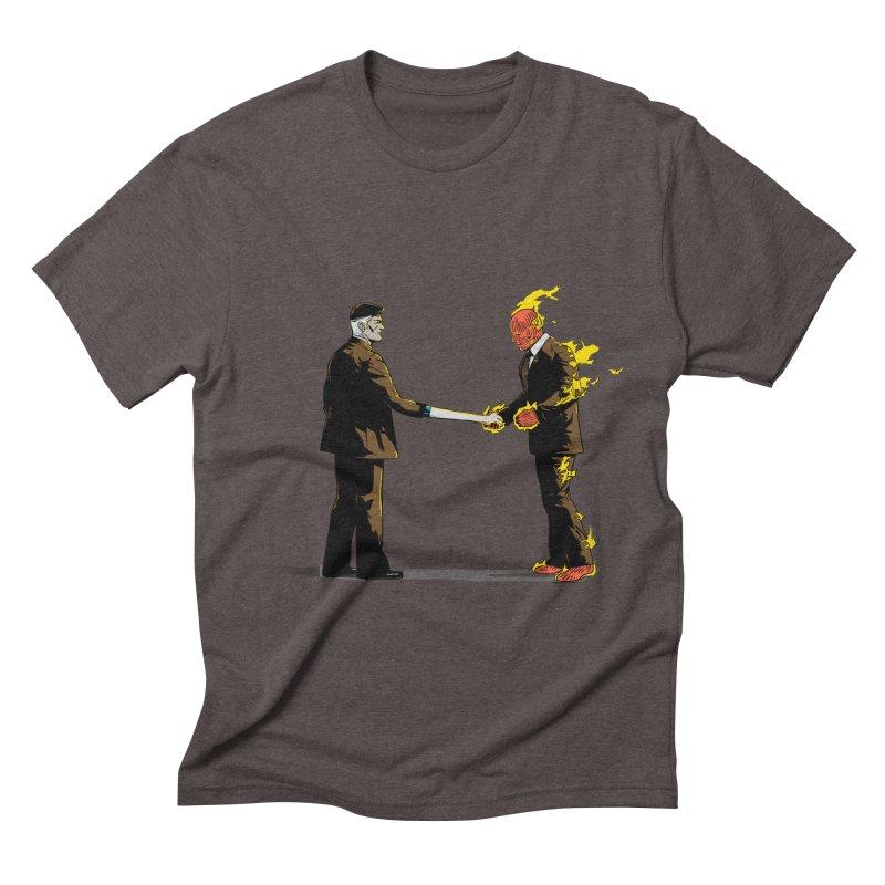Wish You Were Fantastic Men's Triblend T-shirt by Nikoby's Artist Shop