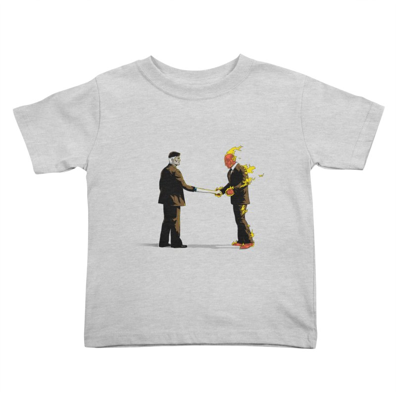 Wish You Were Fantastic Kids Toddler T-Shirt by Nikoby's Artist Shop