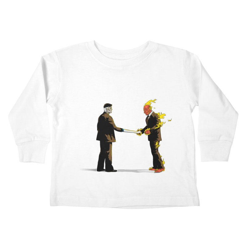 Wish You Were Fantastic Kids Toddler Longsleeve T-Shirt by Nikoby's Artist Shop