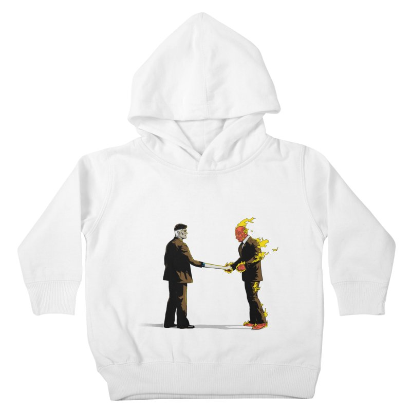 Wish You Were Fantastic Kids Toddler Pullover Hoody by Nikoby's Artist Shop