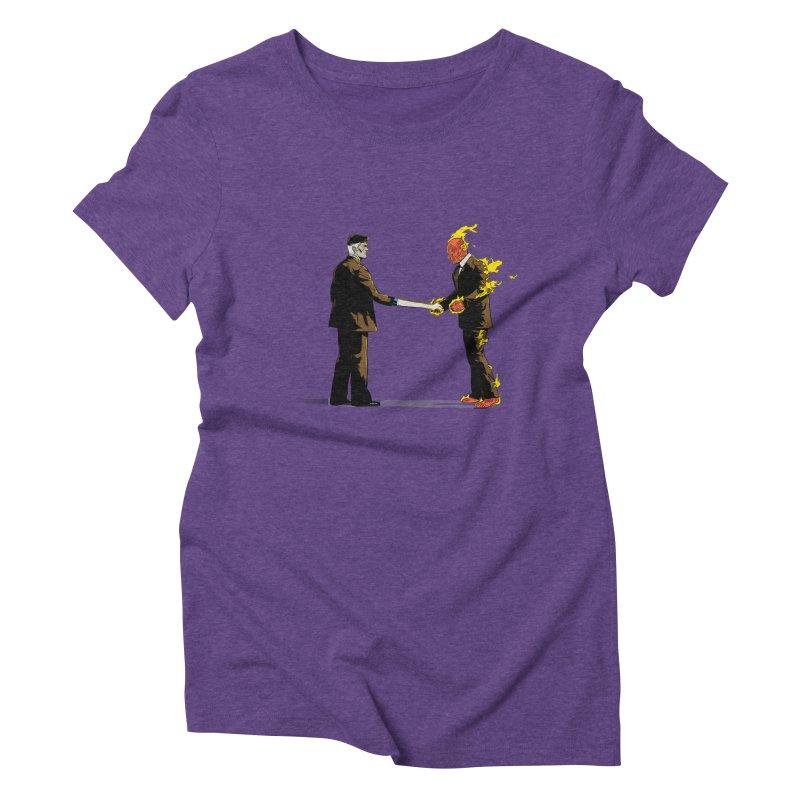 Wish You Were Fantastic Women's Triblend T-Shirt by Nikoby's Artist Shop