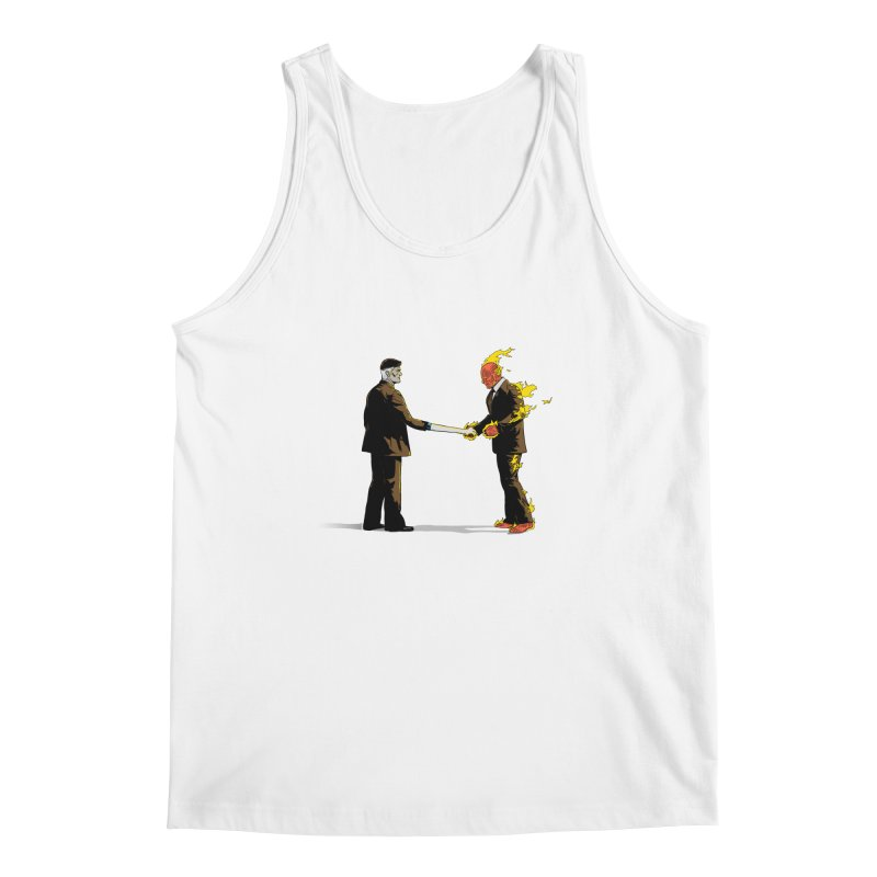Wish You Were Fantastic Men's Tank by Nikoby's Artist Shop