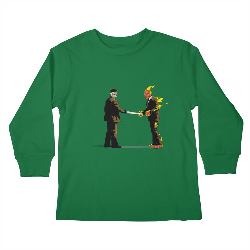 Wish You Were Fantastic Kids Longsleeve T-Shirt by Nikoby's Artist Shop