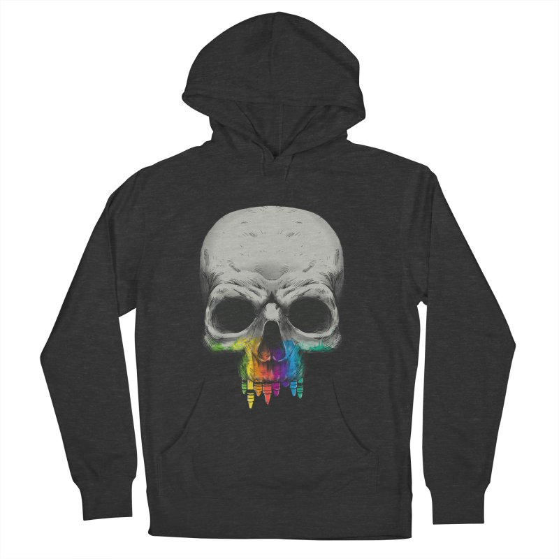 The Many Colors of Death Women's Pullover Hoody by Nikoby's Artist Shop