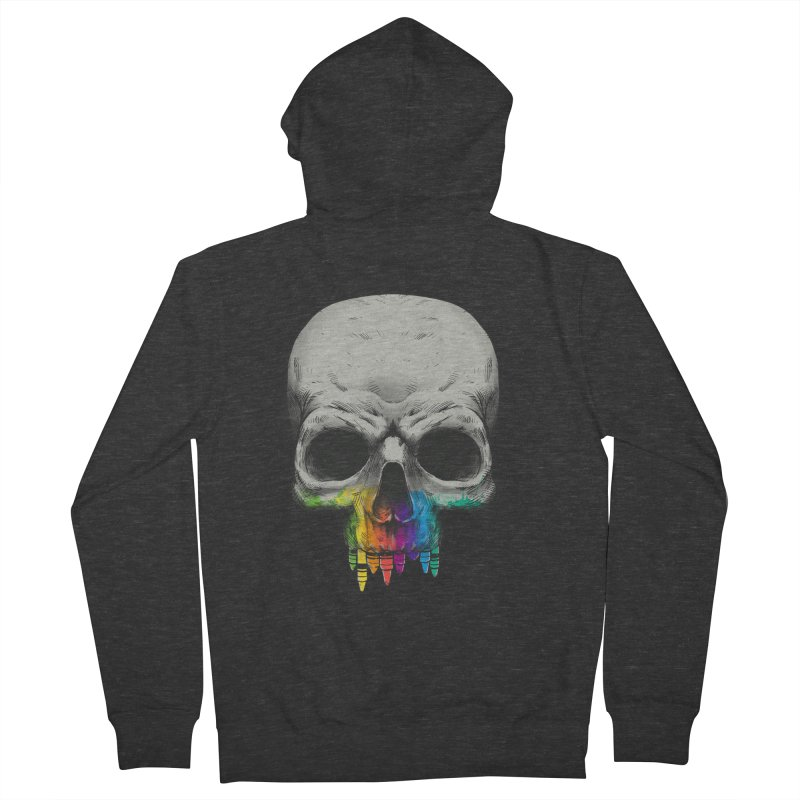The Many Colors of Death Women's Zip-Up Hoody by Nikoby's Artist Shop