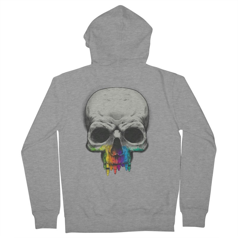 The Many Colors of Death Men's Zip-Up Hoody by Nikoby's Artist Shop