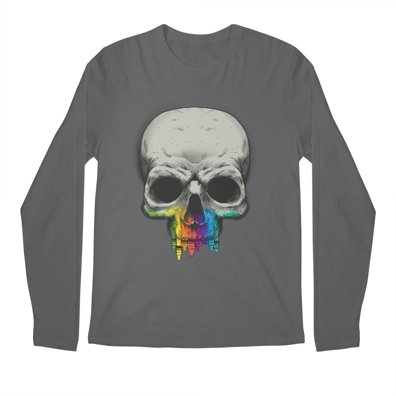 The Many Colors of Death Men's Longsleeve T-Shirt by Nikoby's Artist Shop