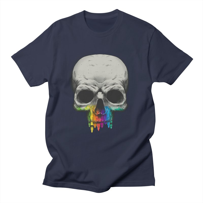 The Many Colors of Death Men's T-shirt by Nikoby's Artist Shop