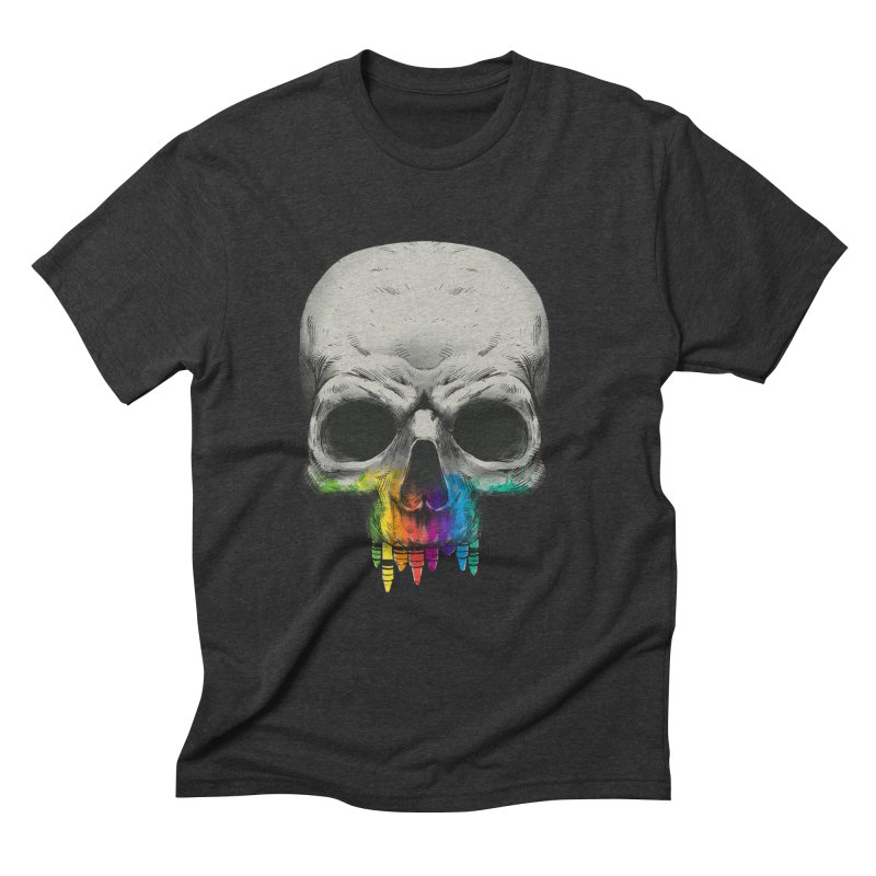 The Many Colors of Death Men's Triblend T-Shirt by Nikoby's Artist Shop