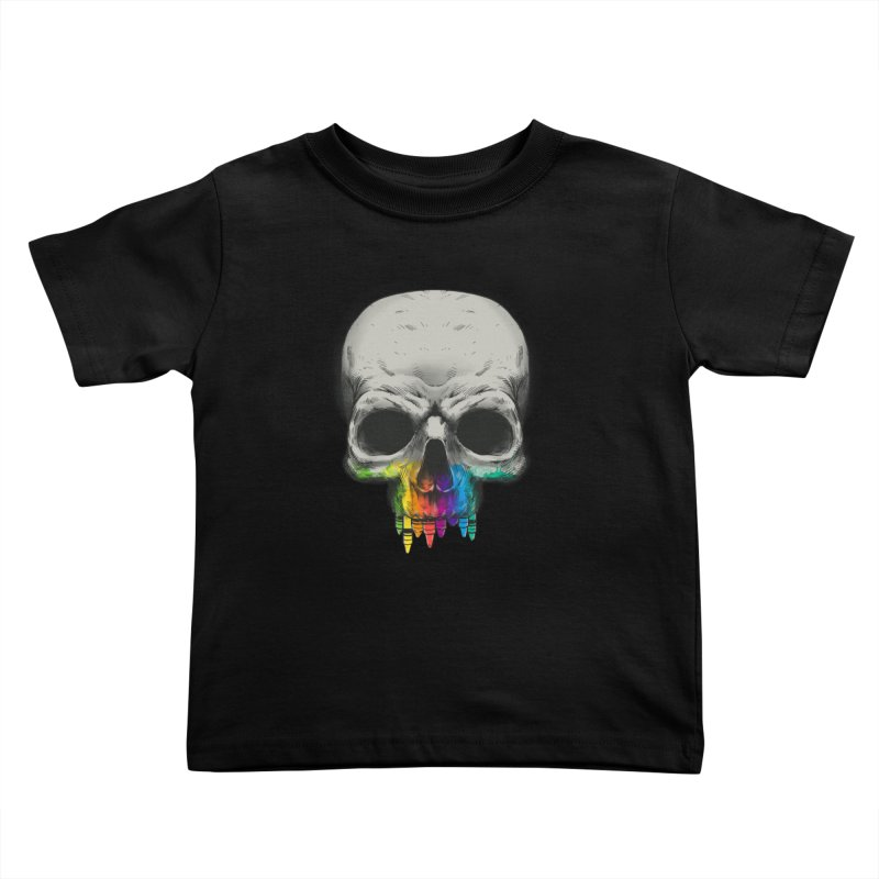 The Many Colors of Death Kids Toddler T-Shirt by Nikoby's Artist Shop