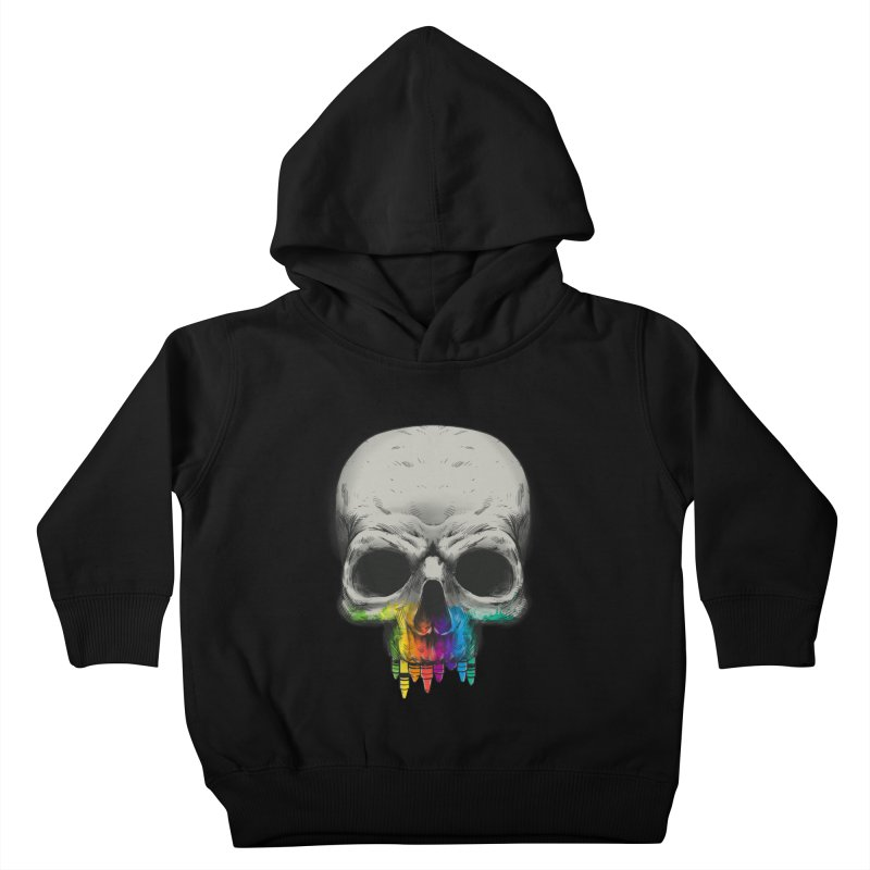 The Many Colors of Death Kids Toddler Pullover Hoody by Nikoby's Artist Shop