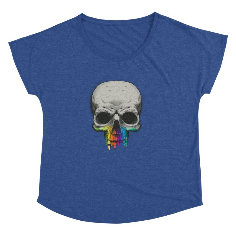 The Many Colors of Death Women's Dolman by Nikoby's Artist Shop