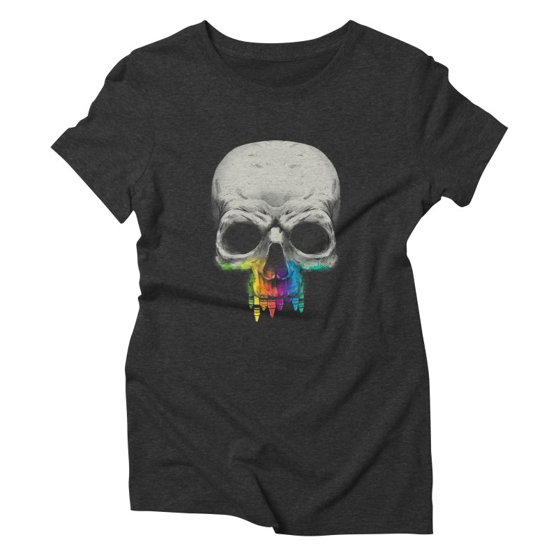 The Many Colors of Death Women's Triblend T-shirt by Nikoby's Artist Shop