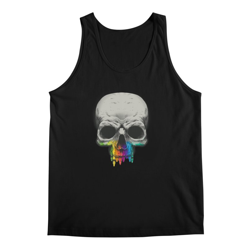 The Many Colors of Death Men's Tank by Nikoby's Artist Shop