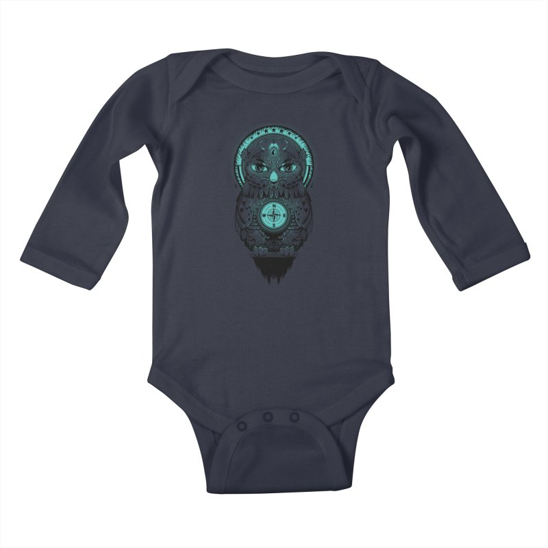 Guardian of the Lost Kids Baby Longsleeve Bodysuit by Nikoby's Artist Shop