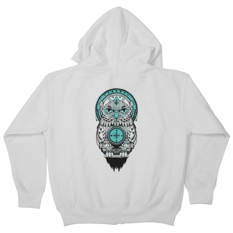 Guardian of the Lost Kids Zip-Up Hoody by Nikoby's Artist Shop