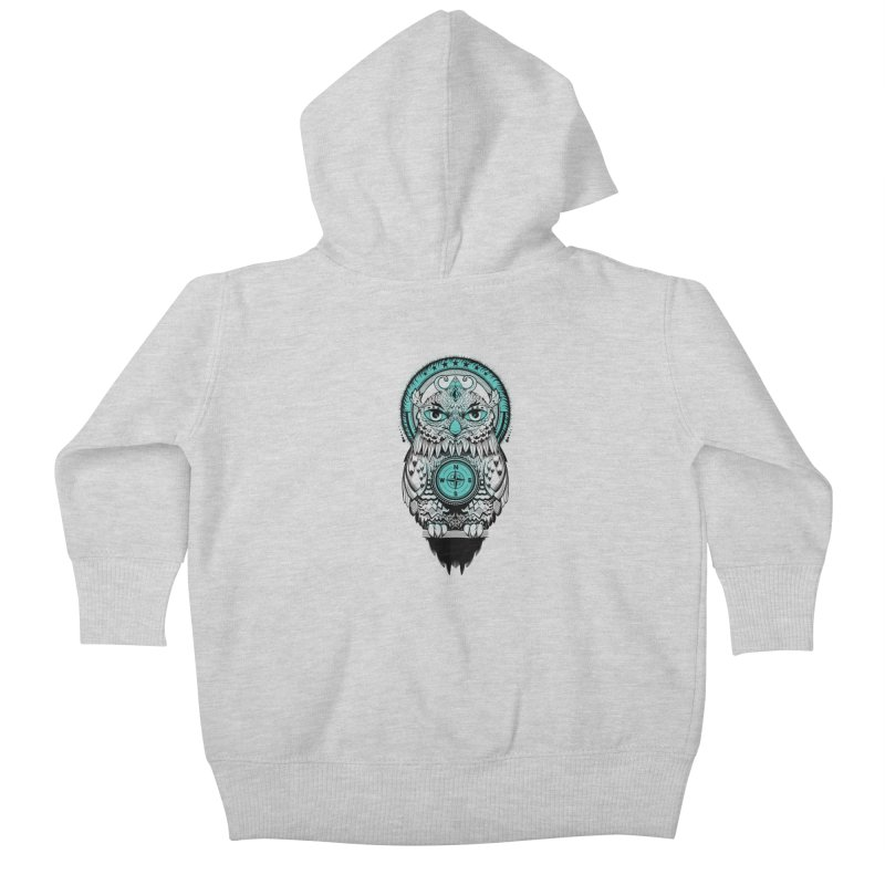 Guardian of the Lost Kids Baby Zip-Up Hoody by Nikoby's Artist Shop