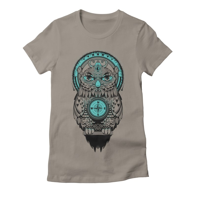 Guardian of the Lost Women's Fitted T-Shirt by Nikoby's Artist Shop