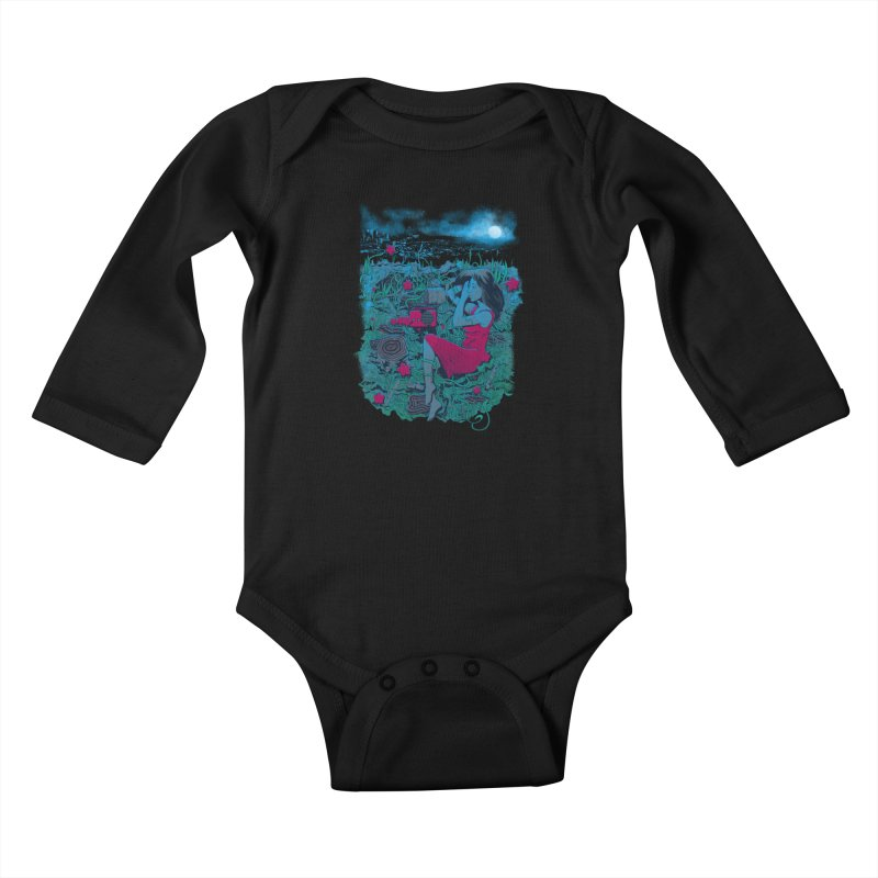 Escape Kids Baby Longsleeve Bodysuit by Nikoby's Artist Shop