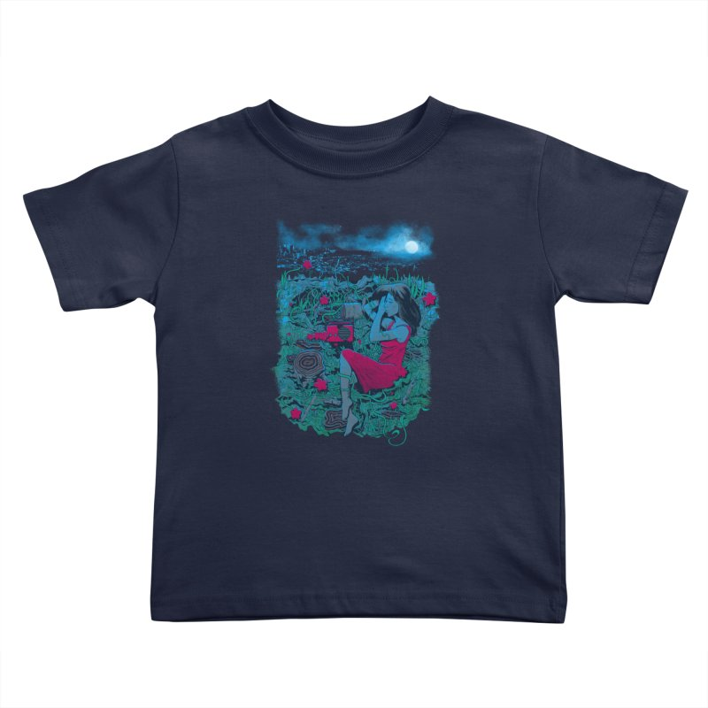 Escape Kids Toddler T-Shirt by Nikoby's Artist Shop