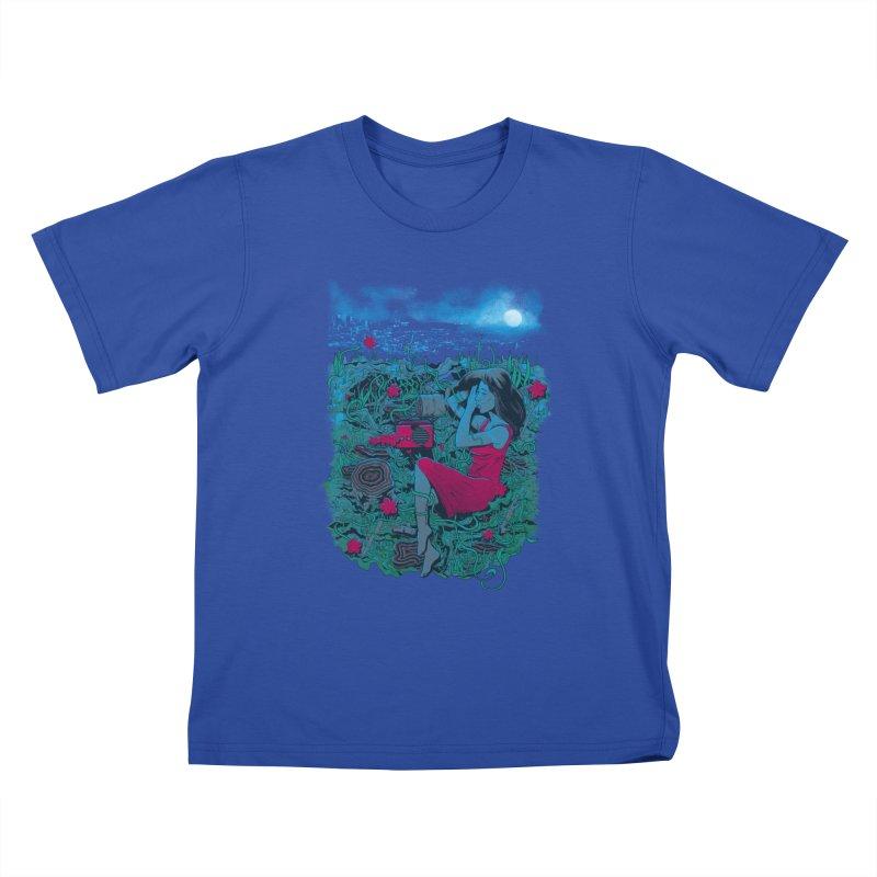 Escape Kids T-shirt by Nikoby's Artist Shop