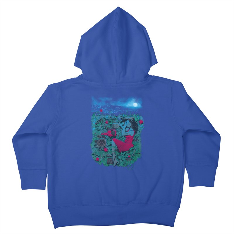 Escape Kids Toddler Zip-Up Hoody by Nikoby's Artist Shop