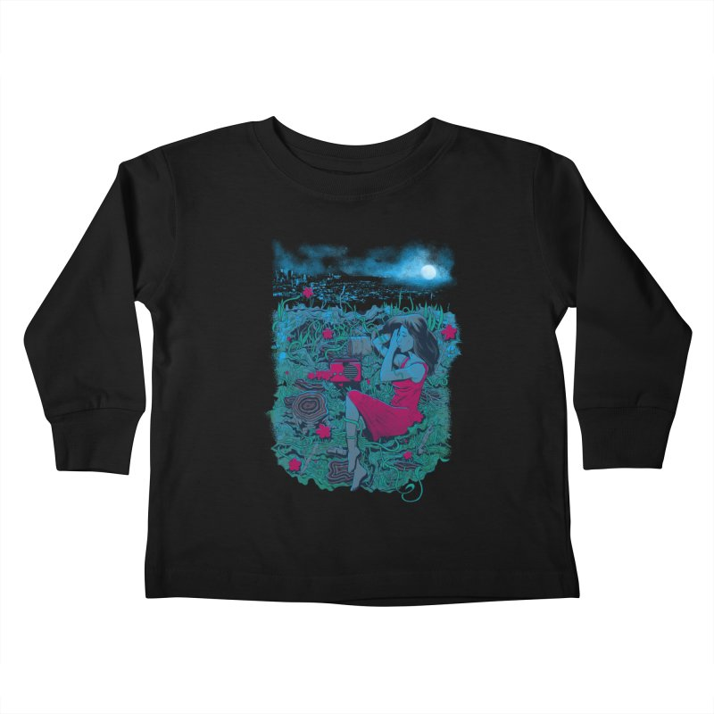 Escape Kids Toddler Longsleeve T-Shirt by Nikoby's Artist Shop