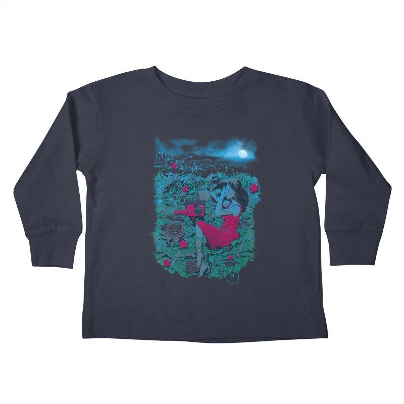 Escape Kids Toddler Longsleeve T-Shirt by Nikoby's Artist Shop