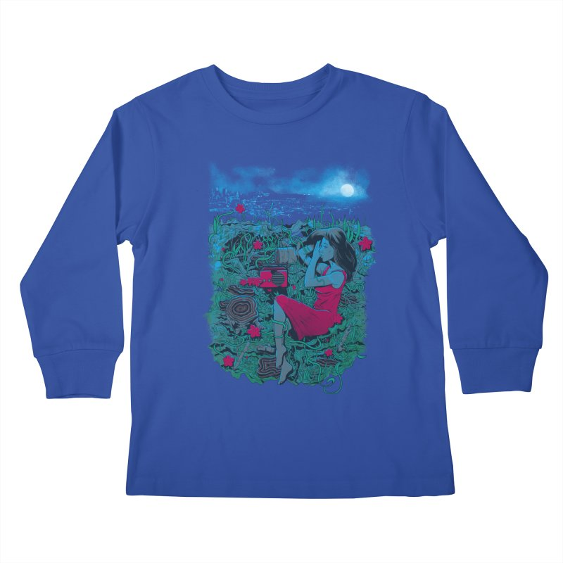 Escape Kids Longsleeve T-Shirt by Nikoby's Artist Shop