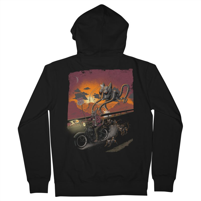 Every Dog Has its Day Men's Zip-Up Hoody by Nikoby's Artist Shop
