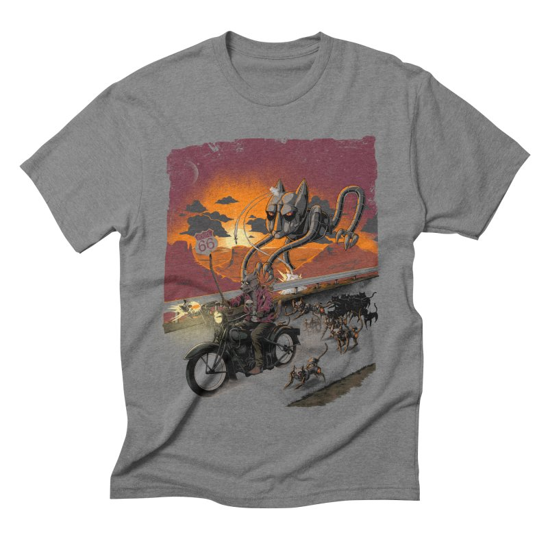 Every Dog Has its Day Men's Triblend T-shirt by Nikoby's Artist Shop