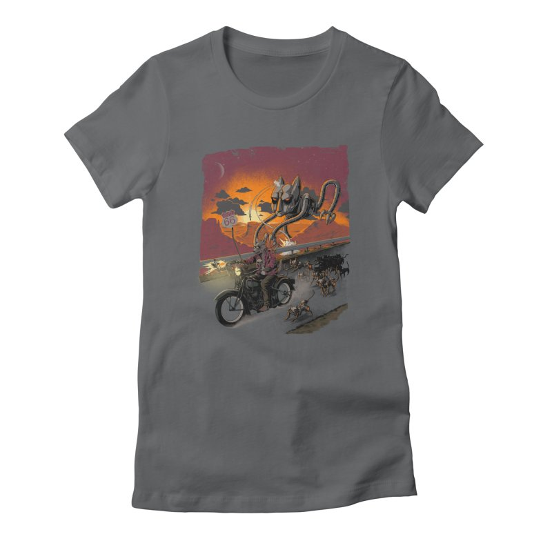 Every Dog Has its Day Women's Fitted T-Shirt by Nikoby's Artist Shop