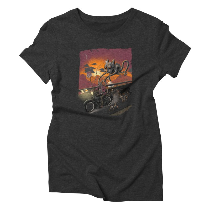 Every Dog Has its Day Women's Triblend T-Shirt by Nikoby's Artist Shop