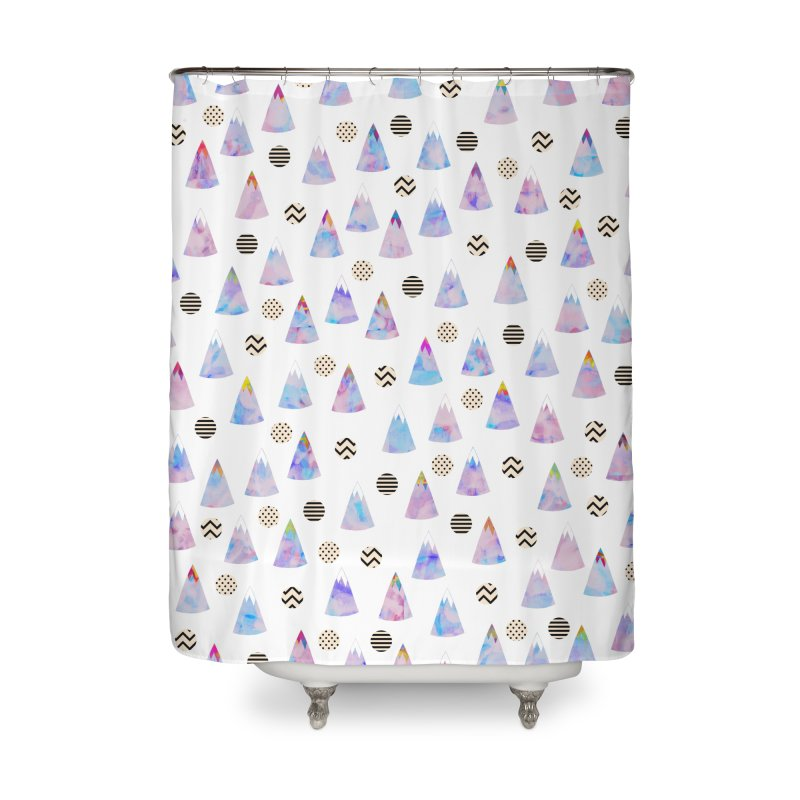 Cosmic Forest Home Shower Curtain by Nikola Nupra