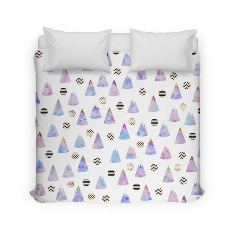 Cosmic Forest Home Duvet by Nikola Nupra