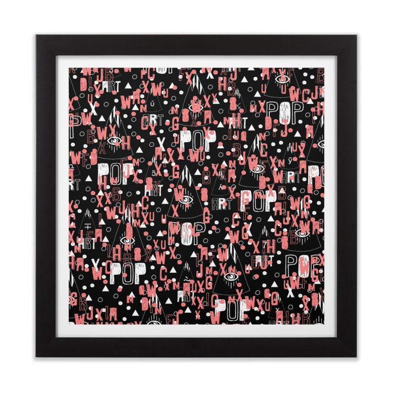 ARTPOP Series Home Framed Fine Art Print by Nikola Nupra