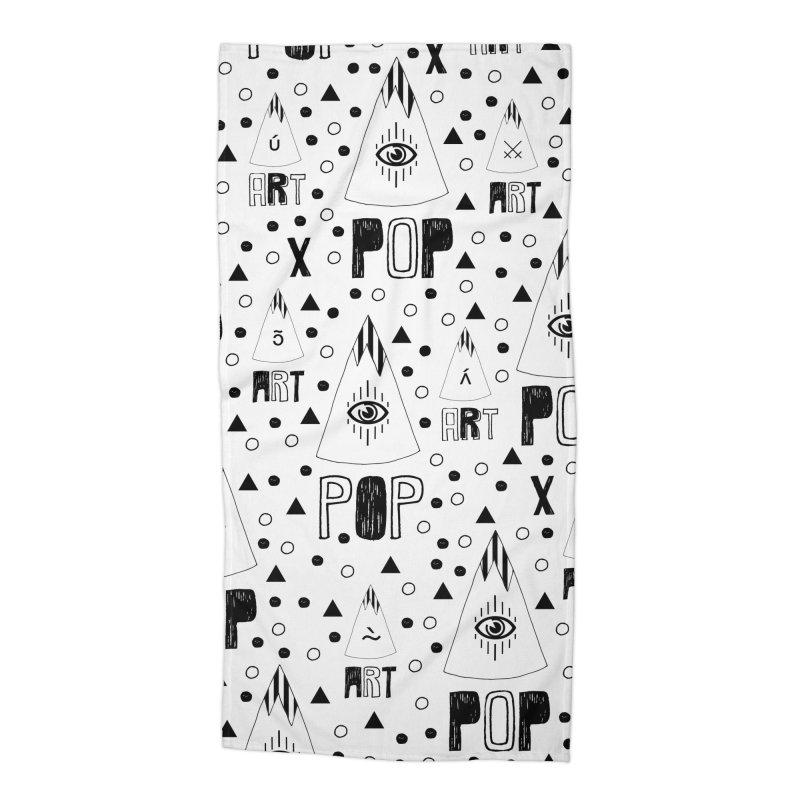ARTPOP Series Accessories Beach Towel by Nikola Nupra
