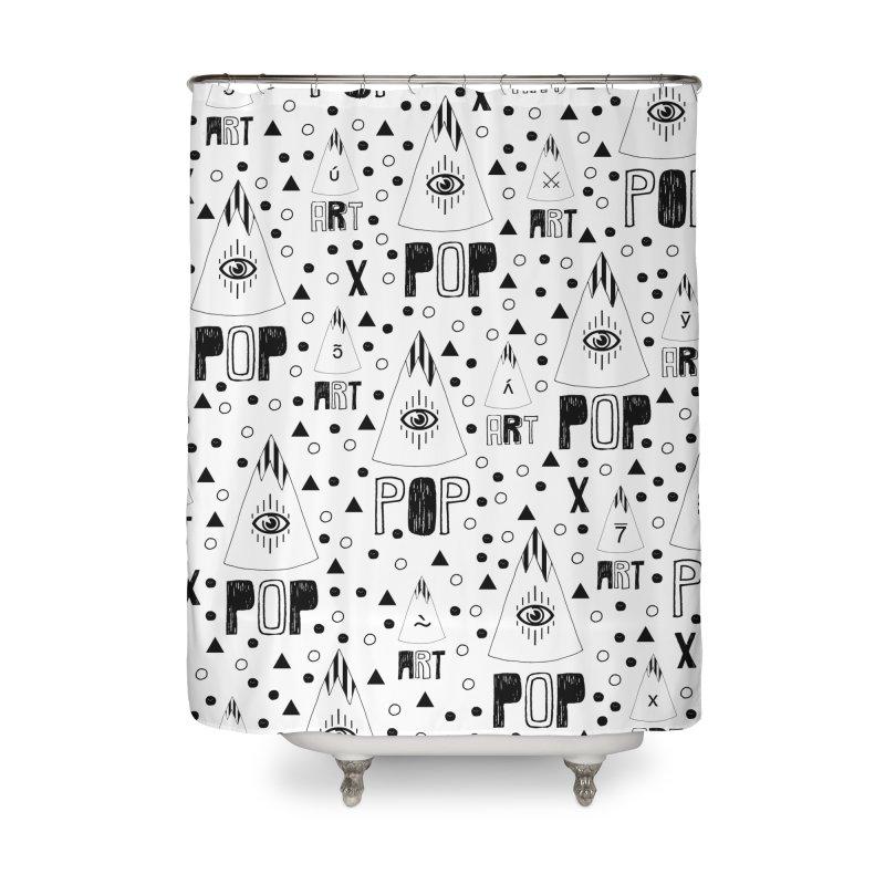 ARTPOP Series Home Shower Curtain by Nikola Nupra