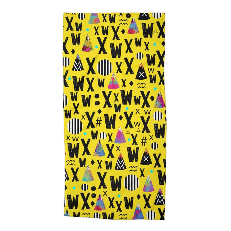 Abstract Series Accessories Beach Towel by Nikola Nupra