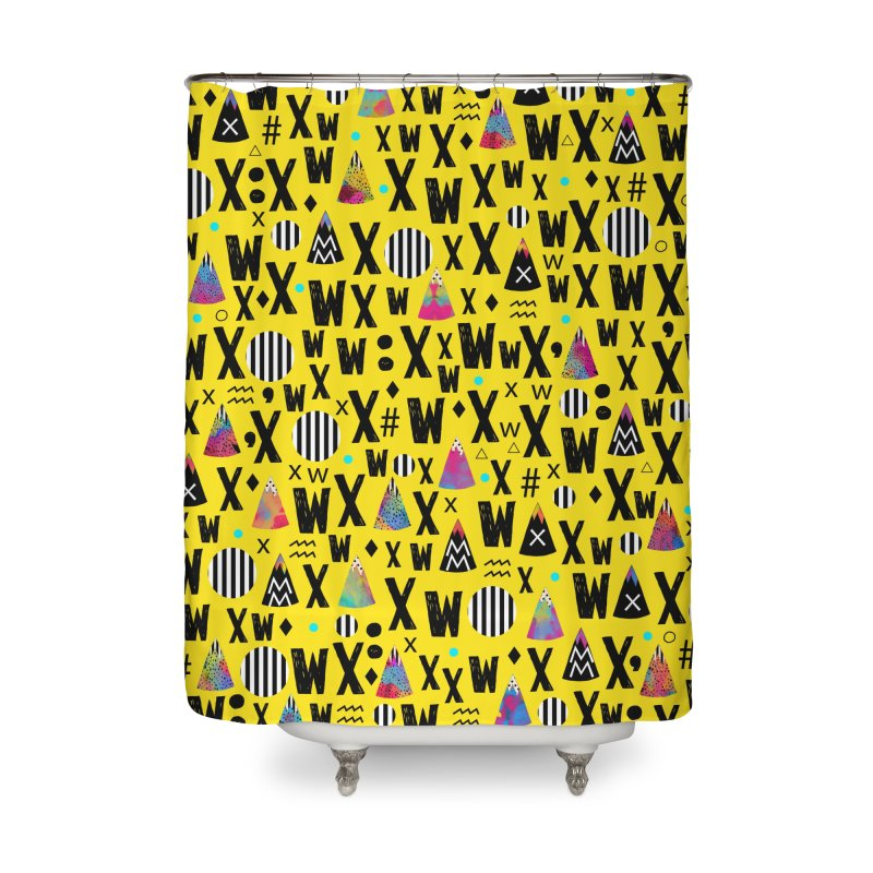 Abstract Series Home Shower Curtain by Nikola Nupra