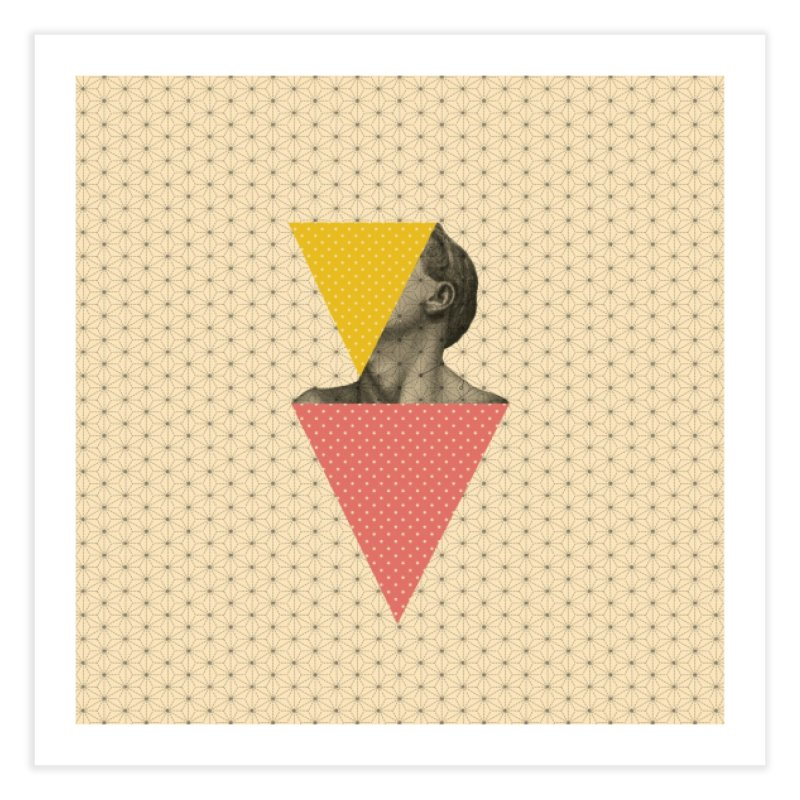Body and Geometrics  Home Fine Art Print by Nikola Nupra