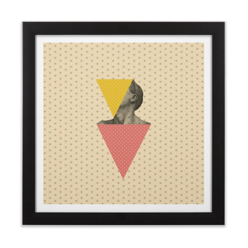 Body and Geometrics  Home Framed Fine Art Print by Nikola Nupra