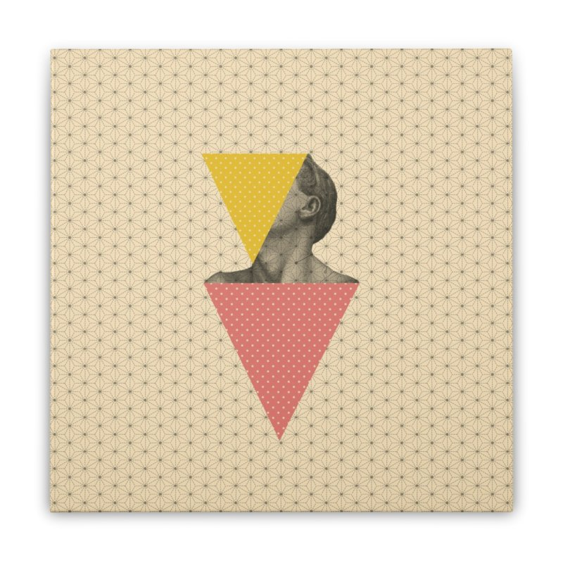 Body and Geometrics  Home Stretched Canvas by Nikola Nupra