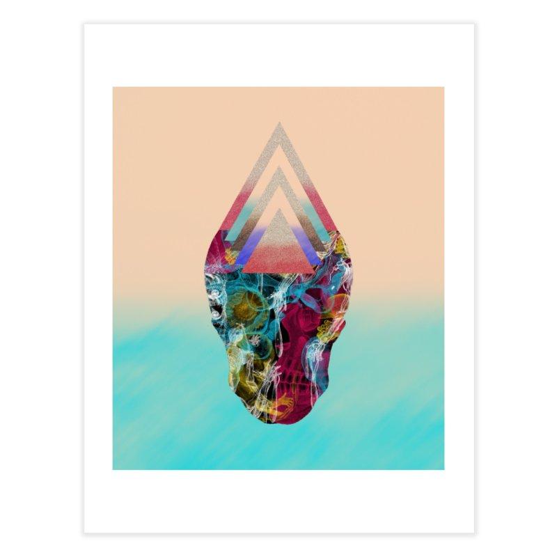 Experimental Skull Home Fine Art Print by Nikola Nupra