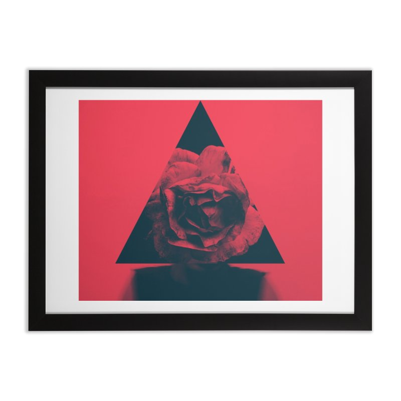 The man and the rose Home Framed Fine Art Print by Nikola Nupra