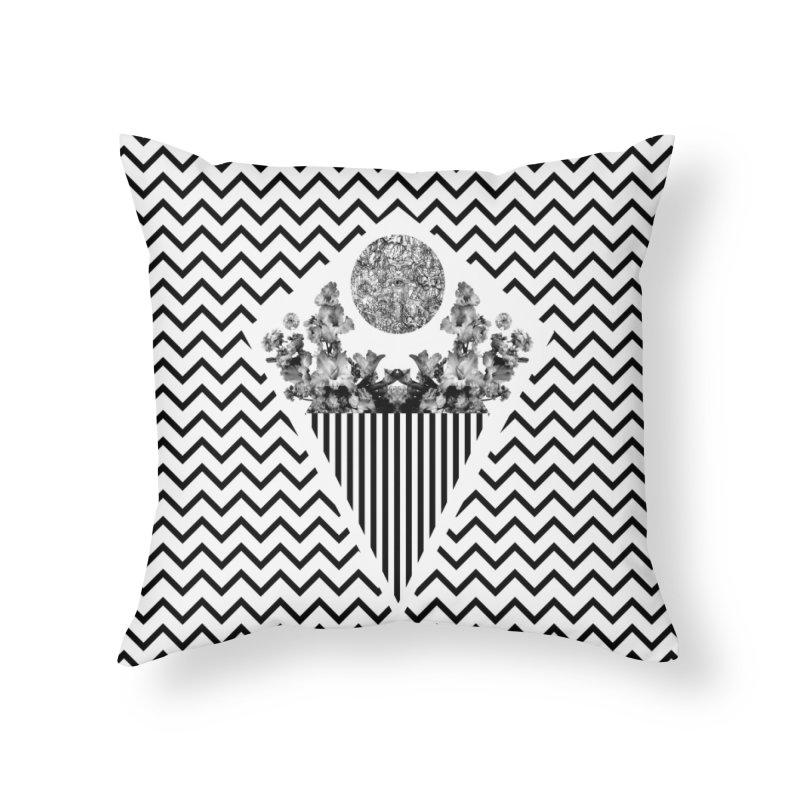 i i  Home Throw Pillow by Nikola Nupra