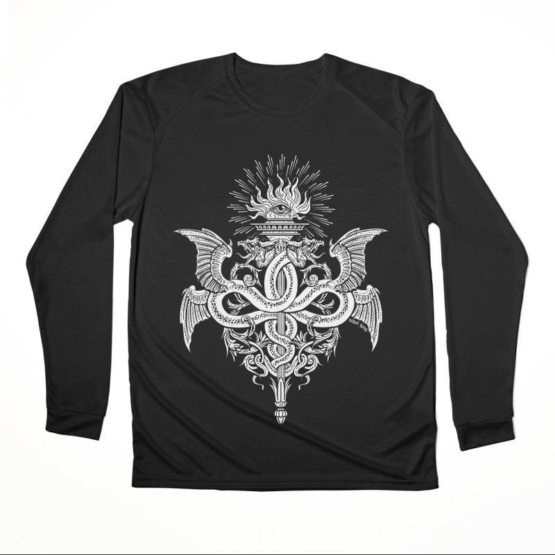 Demeter's Torch Women's Longsleeve T-Shirt by Nikol King's Artist Shop